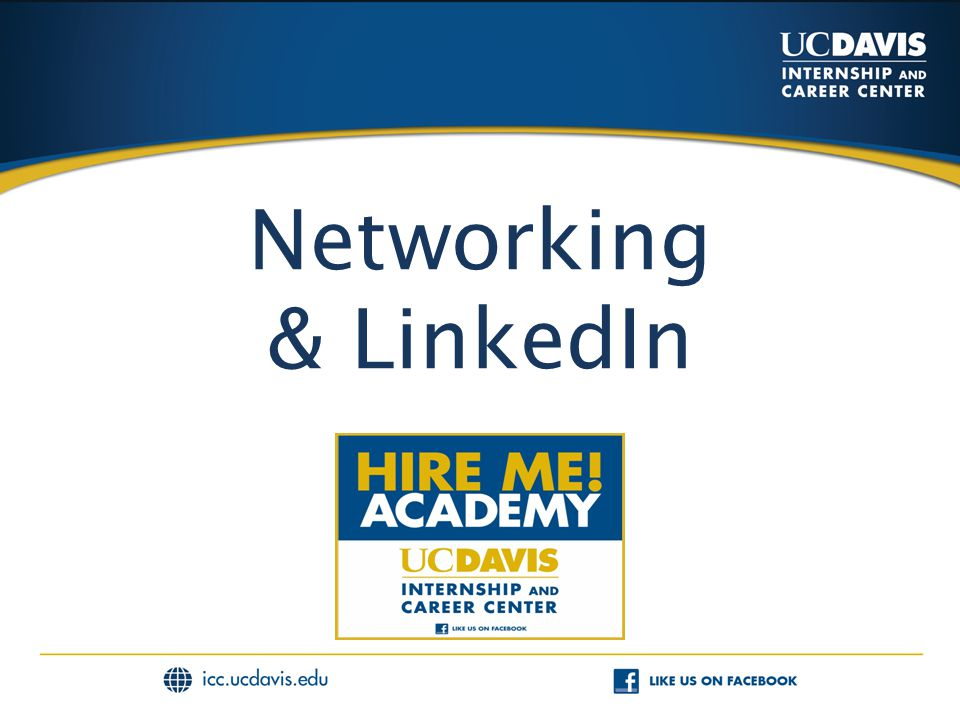 Networking & LinkedIn
