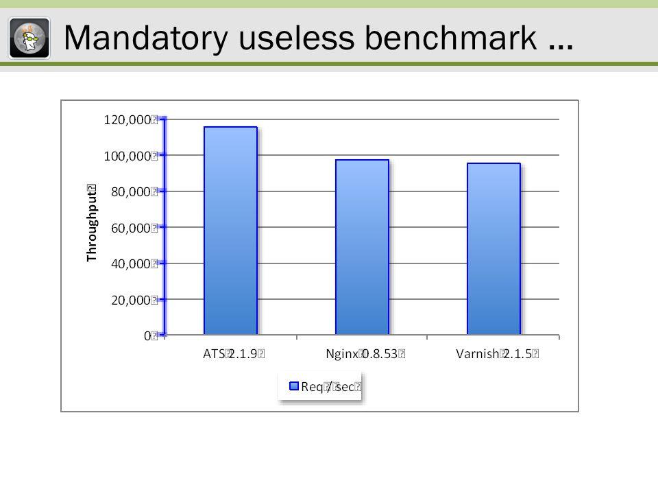 Less useless benchmark …