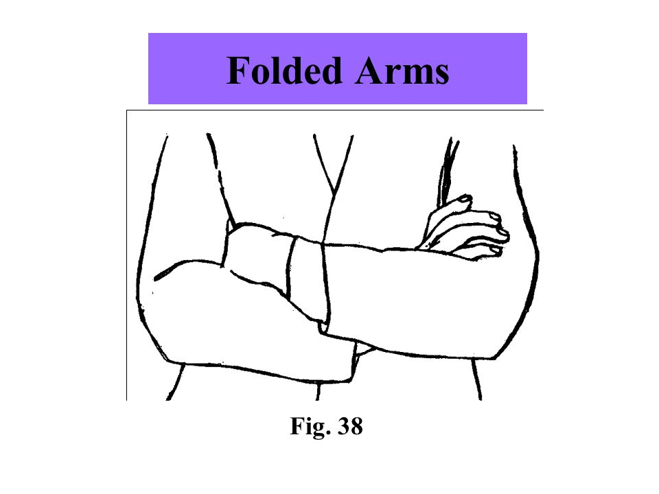 Folded Arms Fig. 38