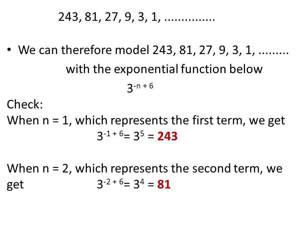 Numerical Sequences and Patterns Arithmetic Sequence Add a fixed number to the previous term Find the common difference between the previous & next term Find the next 3 terms in the arithmetic sequence.