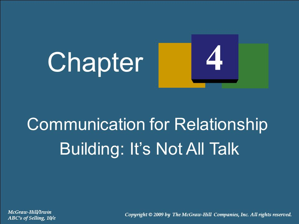 Exhibit 4-2: The Basic Communication Model Has Eight Elements 4-22