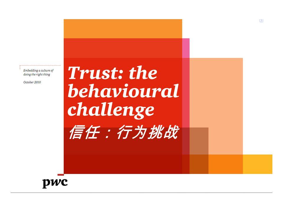 信任:行为挑战