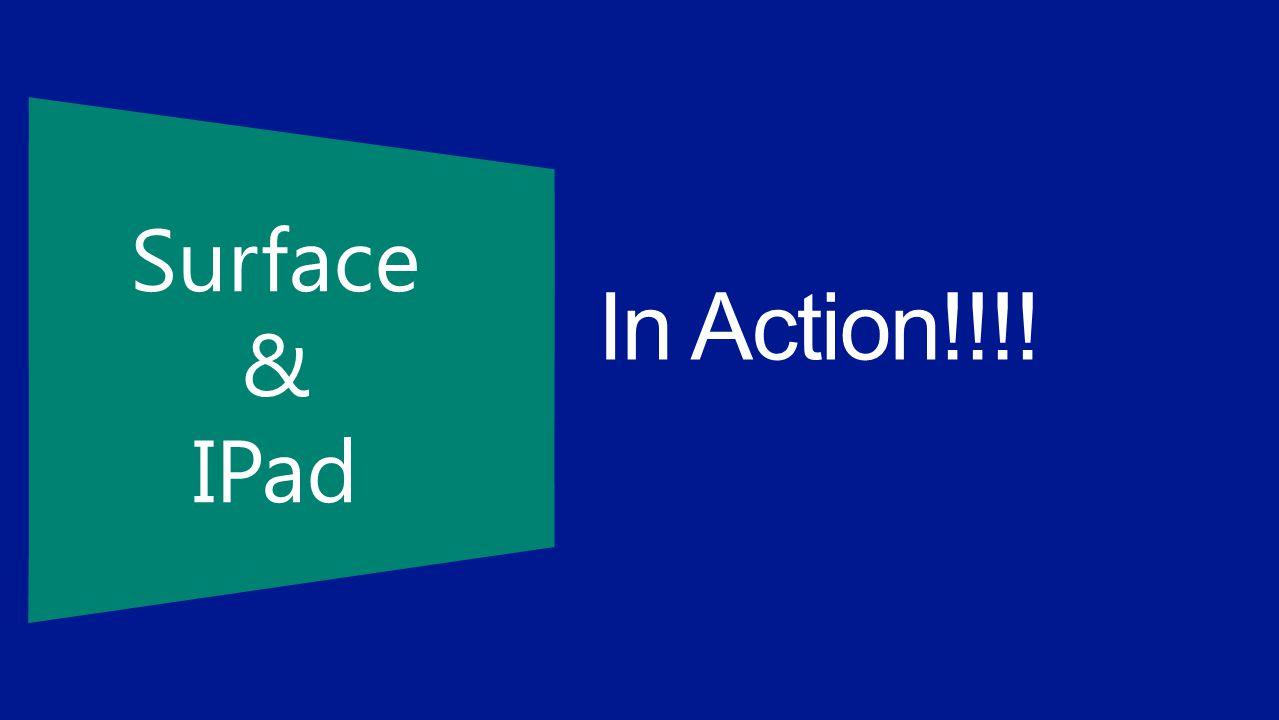 Surface & IPad