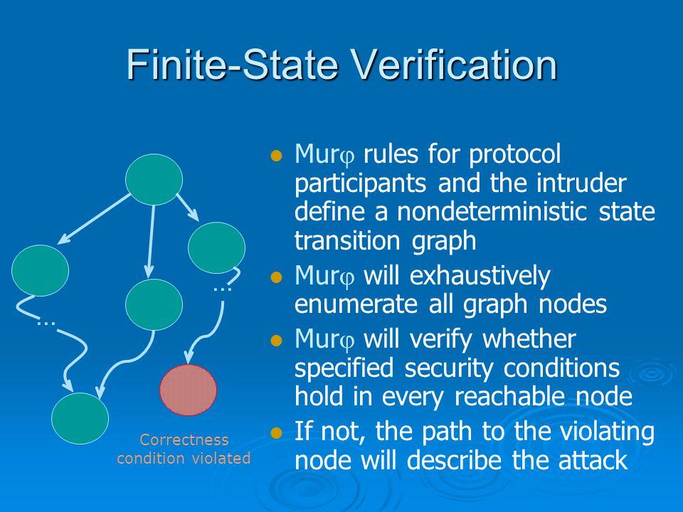 Finite-State Verification...