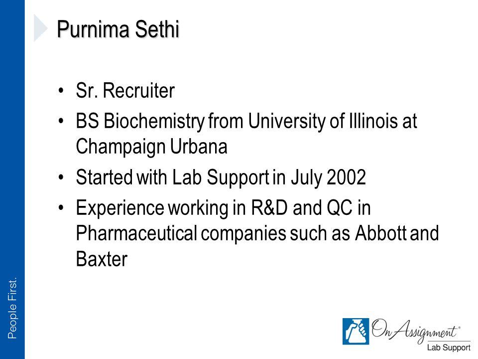 Purnima Sethi Sr.