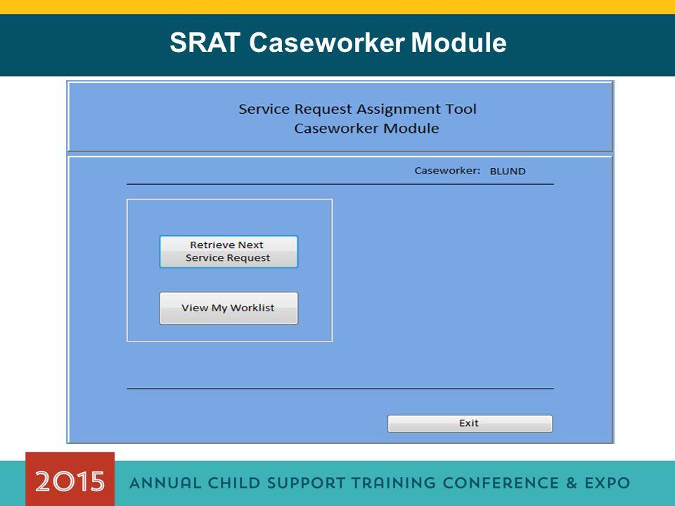 SRAT Caseworker Module