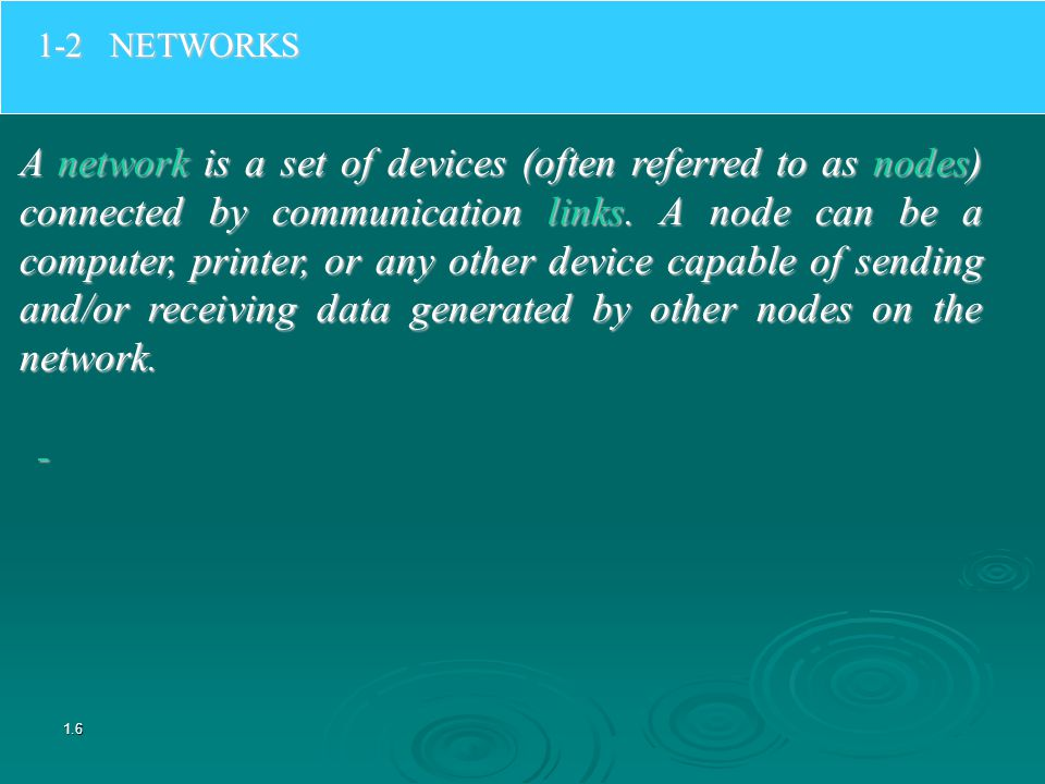 LANs and WANs Local Area Networks (LAN) Wide Area Networks (WAN) There are two broad categories of networks: