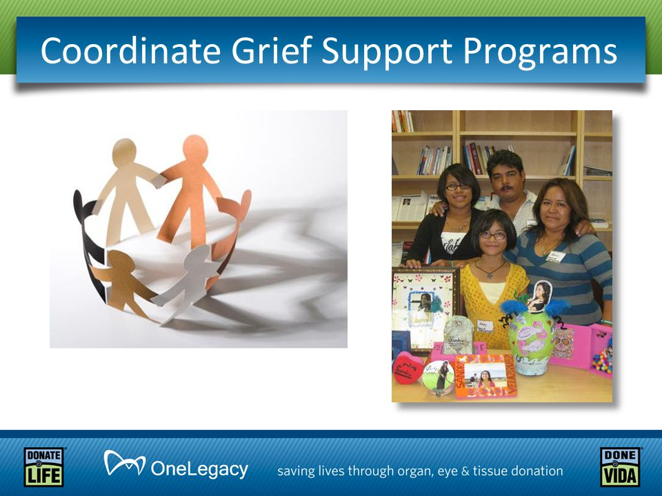 Coordinate Grief Support Programs
