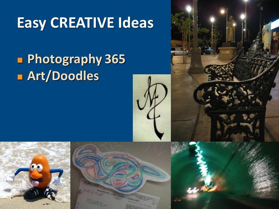 Photography 365 Photography 365 Art/Doodles Art/Doodles Easy CREATIVE Ideas