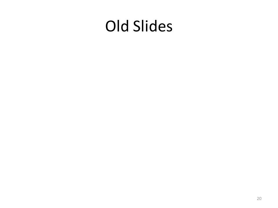 Old Slides 20