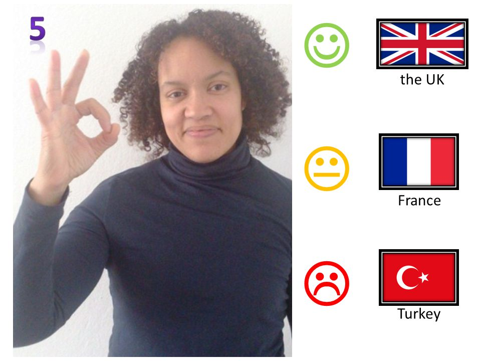   France Turkey the UK
