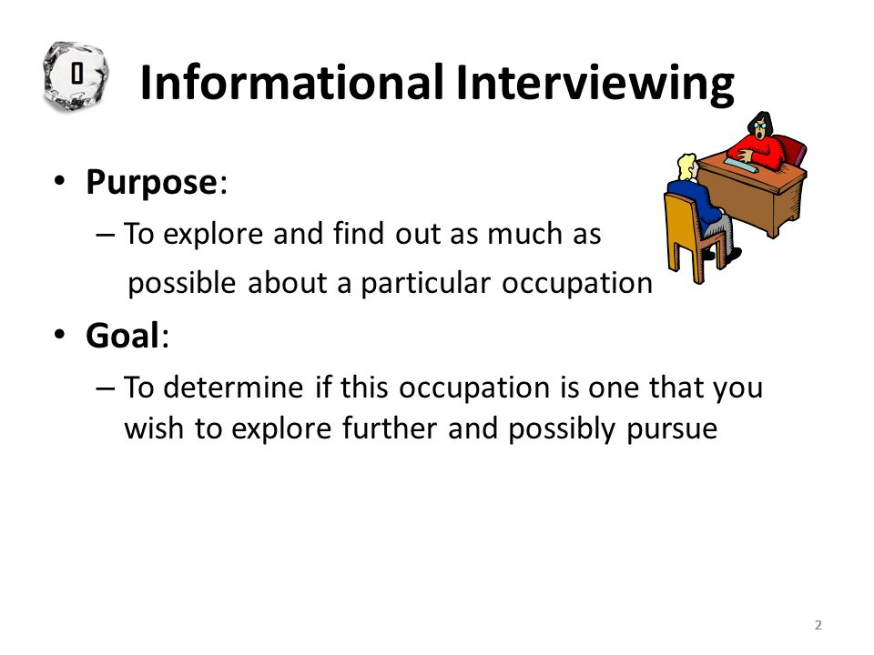 333 Informational Interviewing What is Informational Interviewing.