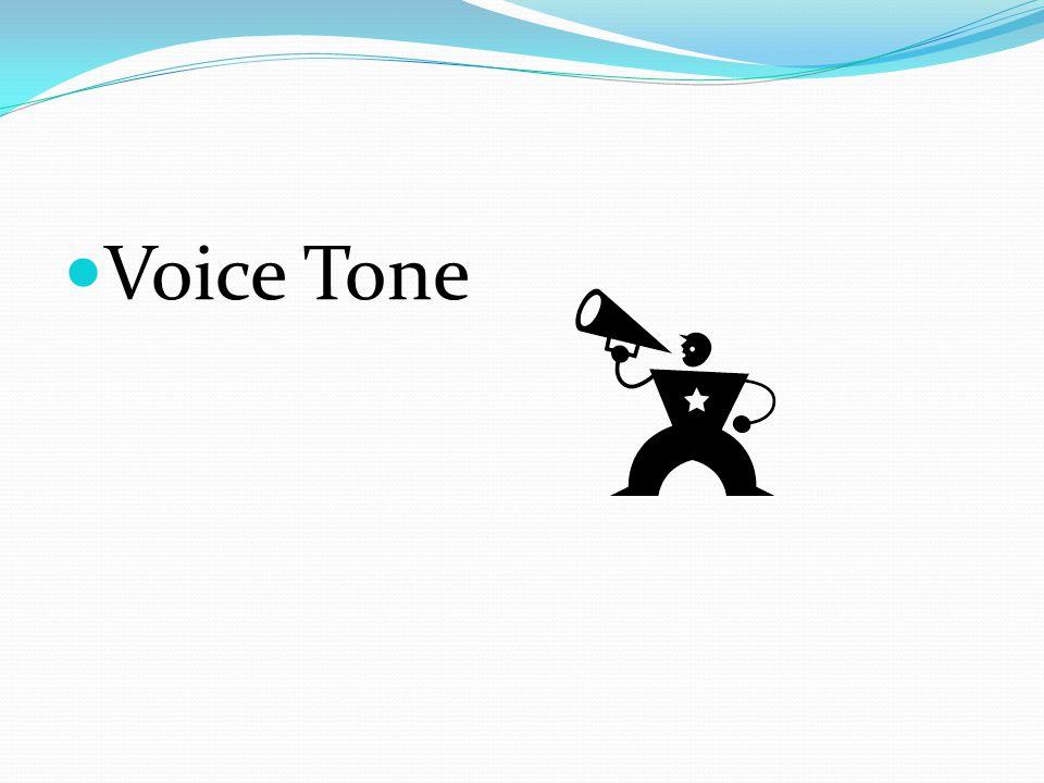 Voice Tone