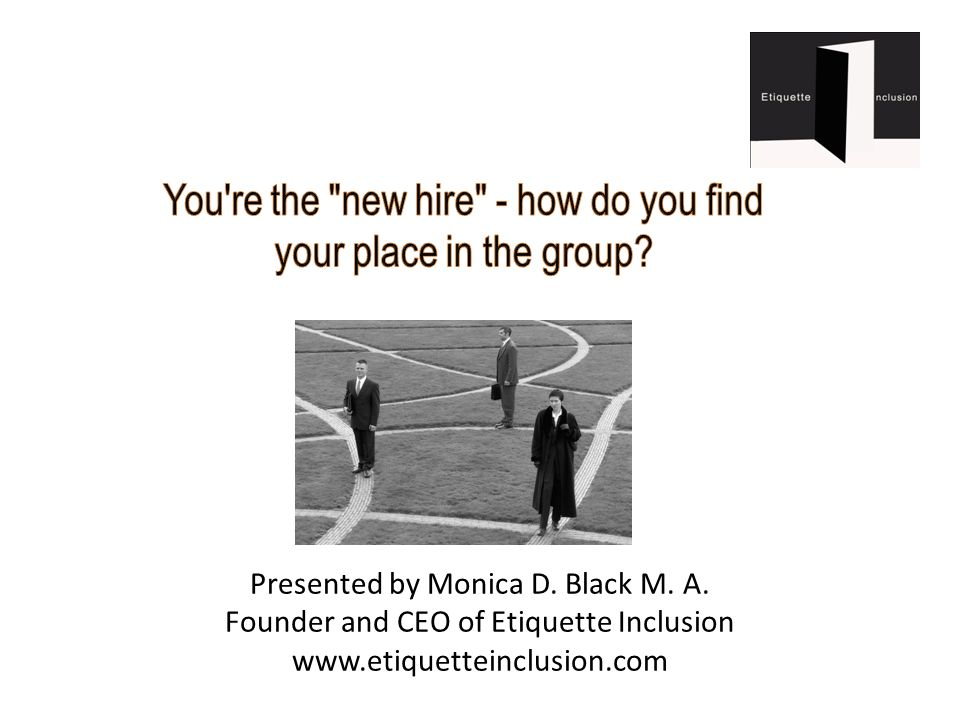 Monica D.Black M. A.