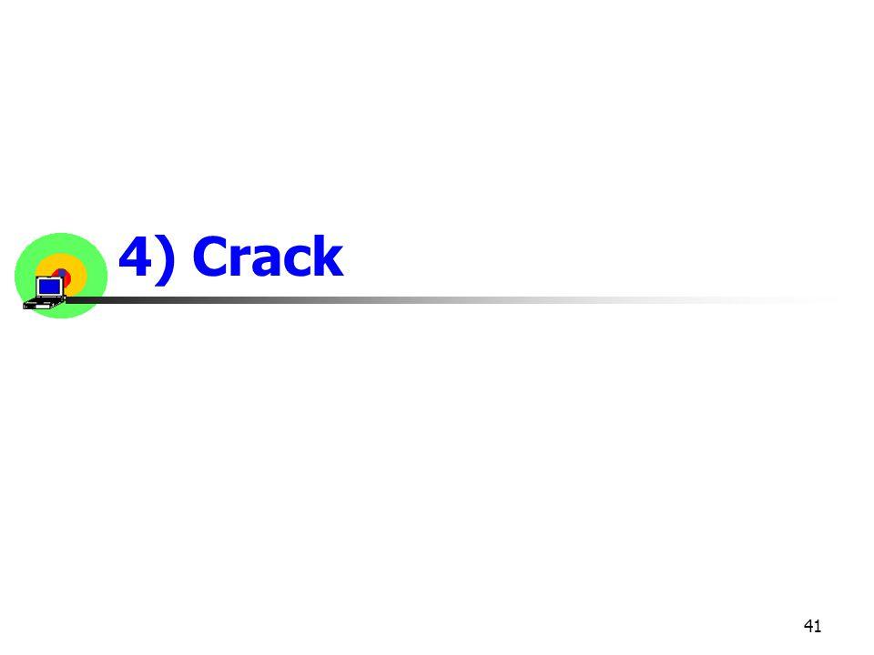 41 4) Crack