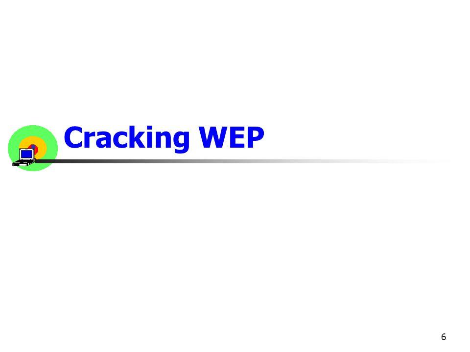 Cracking WEP 6