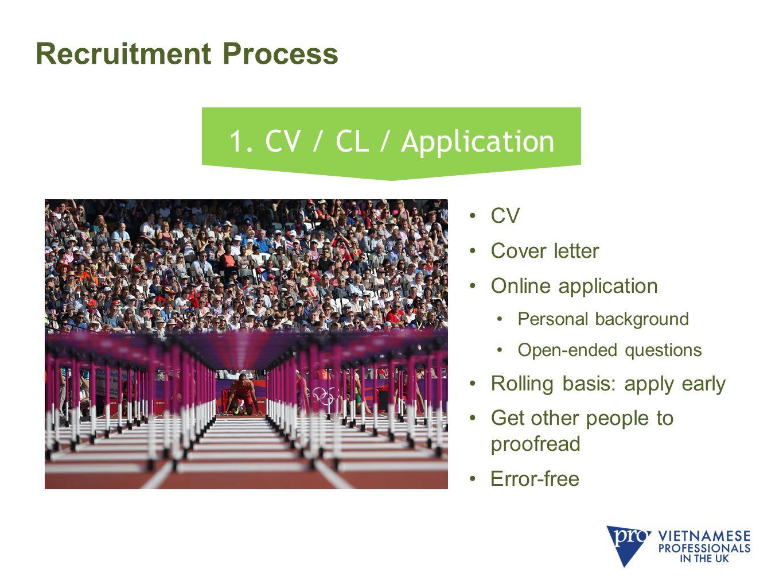 Recruitment Process 1.