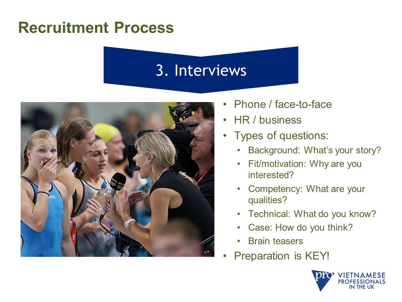 Recruitment Process 3.