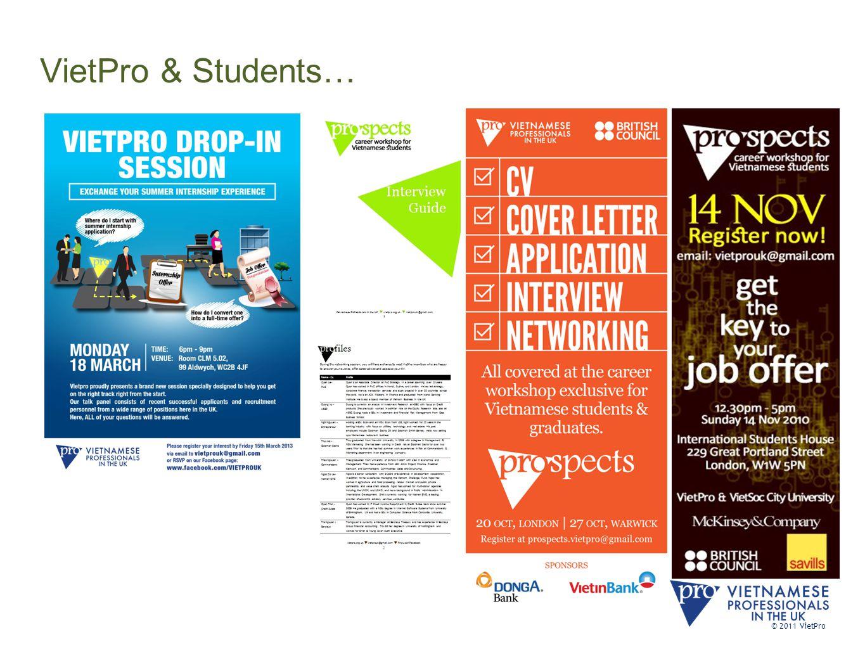 VietPro & Students… © 2011 VietPro