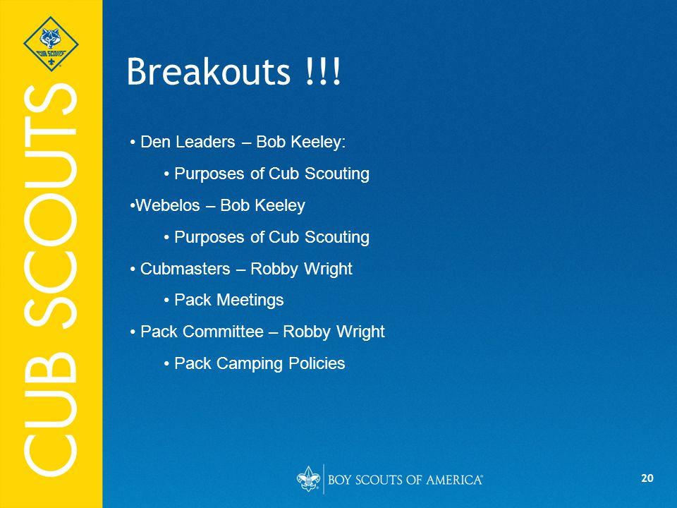 20 Breakouts !!.