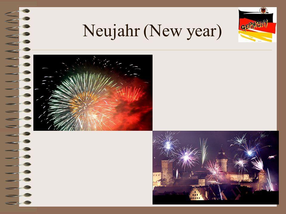Neujahr (New year)
