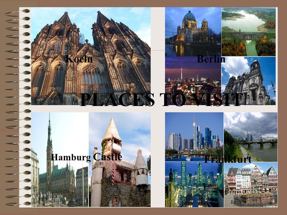 KoelnBerlin Frankfurt Hamburg Castle PLACES TO VISIT