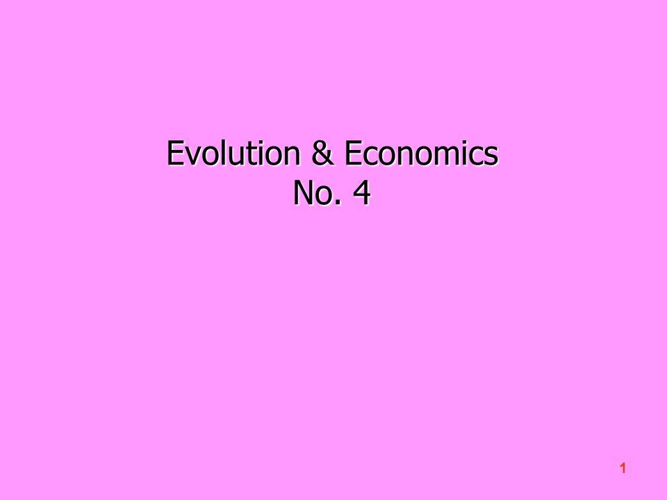 1 Evolution & Economics No. 4