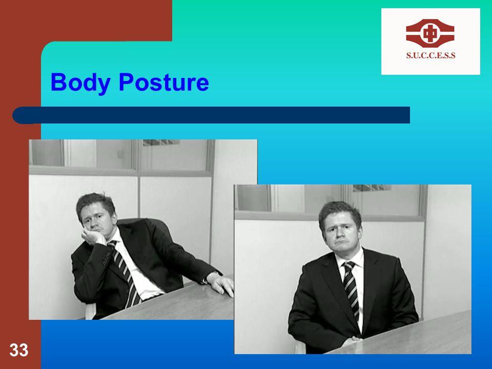 Body Posture 33