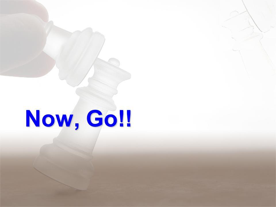 Now, Go!!