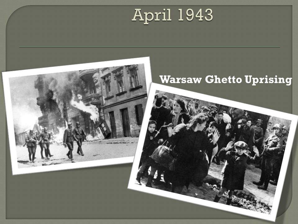  Warsaw Uprising  Russia set up a Communist-dominated government for Poland in Lublin.