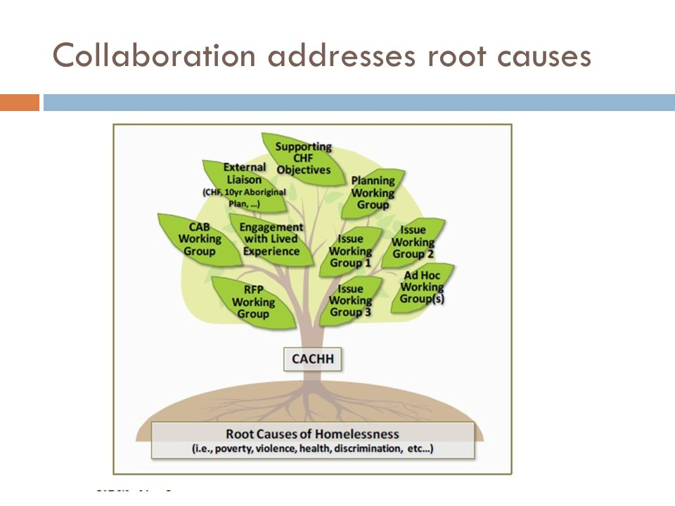 Collaboration addresses root causes