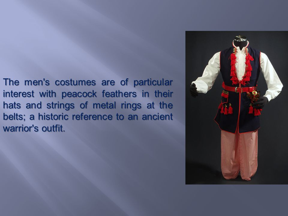 A Krakow costume is the only peasants attire which was promoted to the rank of a Polish national costume.