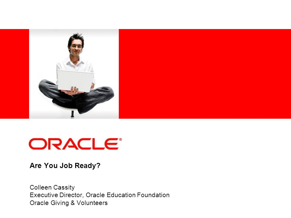 Presentation Available http://www.facebook.com/thinkquest http://academy.oracle.com