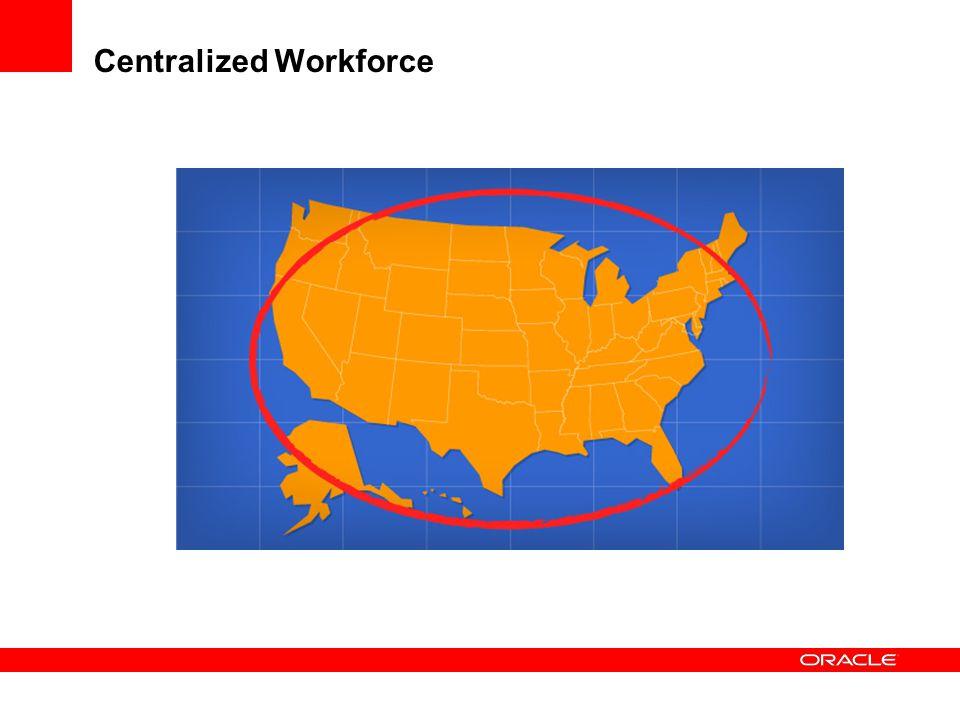 Centralized Workforce