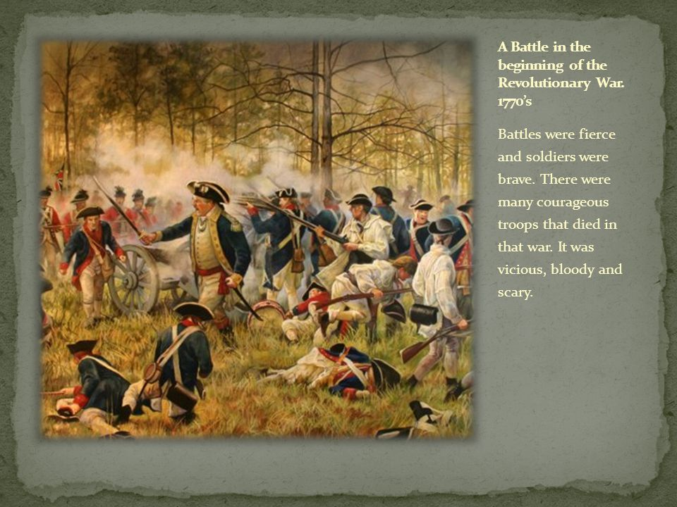 The Middle Colonies had specific strategies for fighting wars.