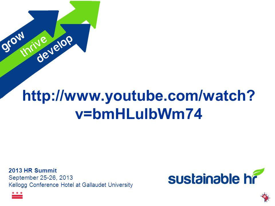 2013 HR Summit September 25-26, 2013 Kellogg Conference Hotel at Gallaudet University AGENDA Personnel vs.
