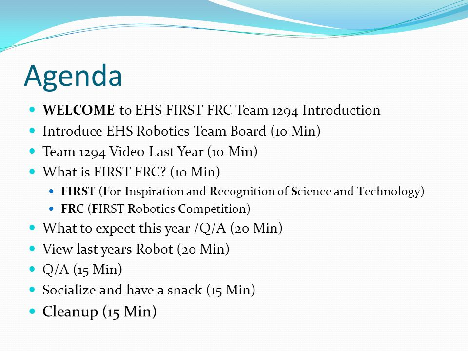 EHS Robotics 2013-2014 Season Video