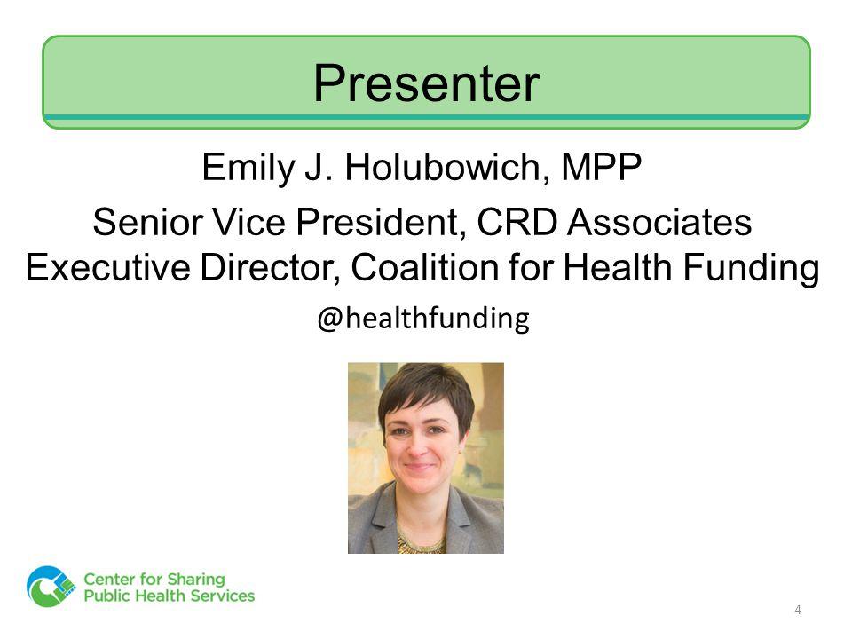 Presenter Emily J.