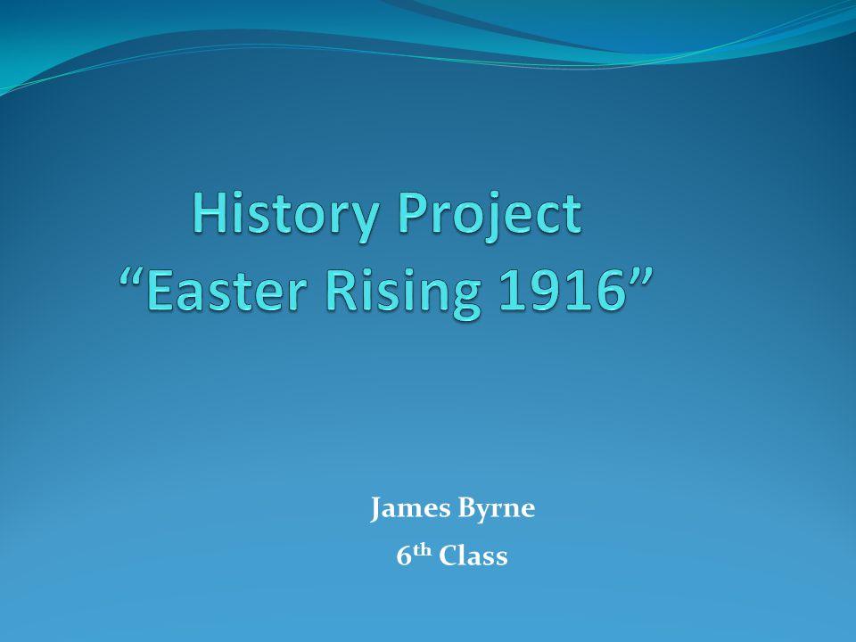 James Byrne 6 th Class