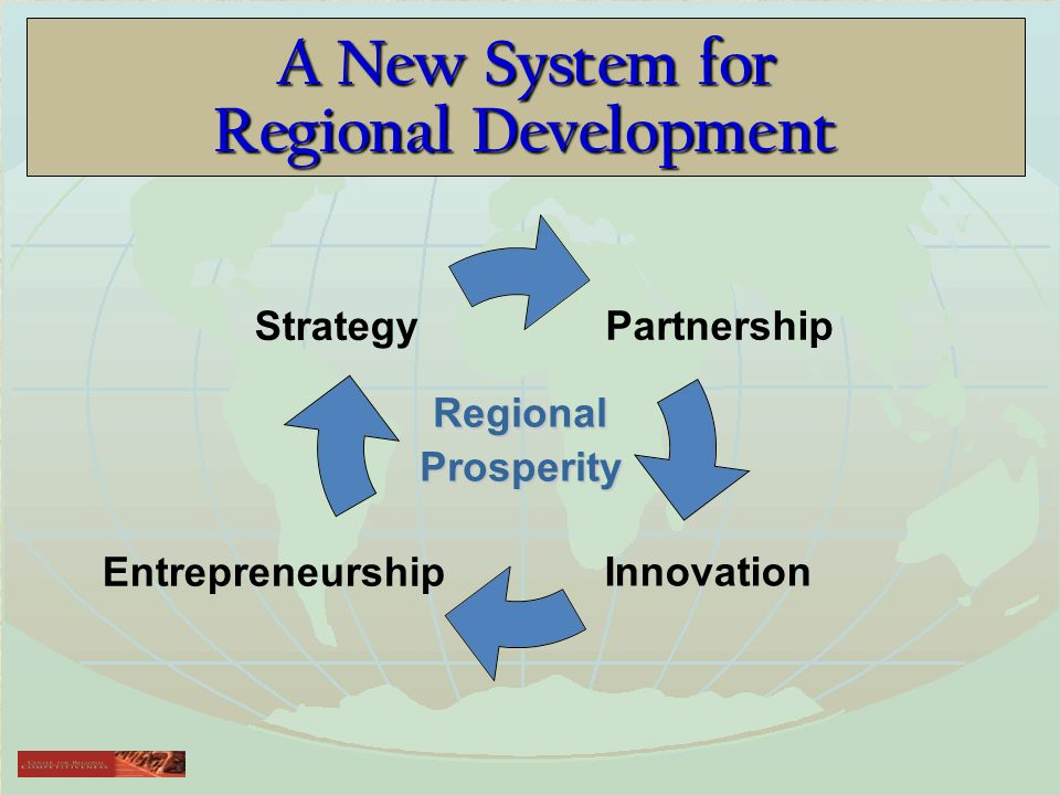 A New System for Regional Development RegionalProsperity
