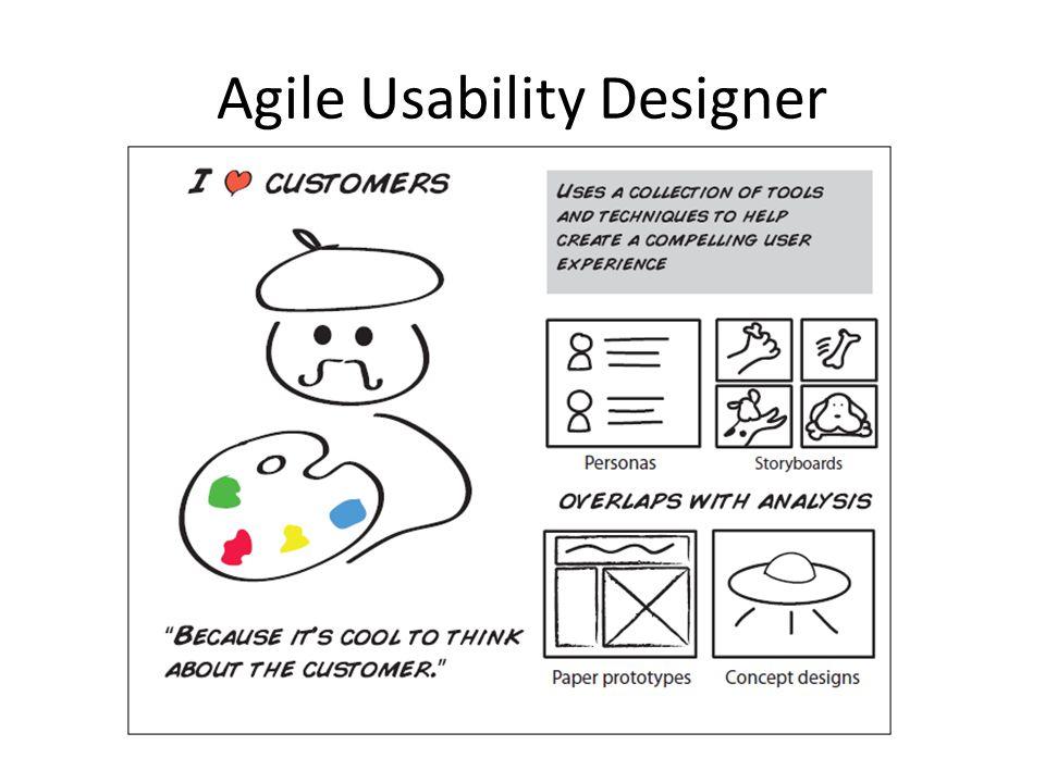 Agile Usability Designer