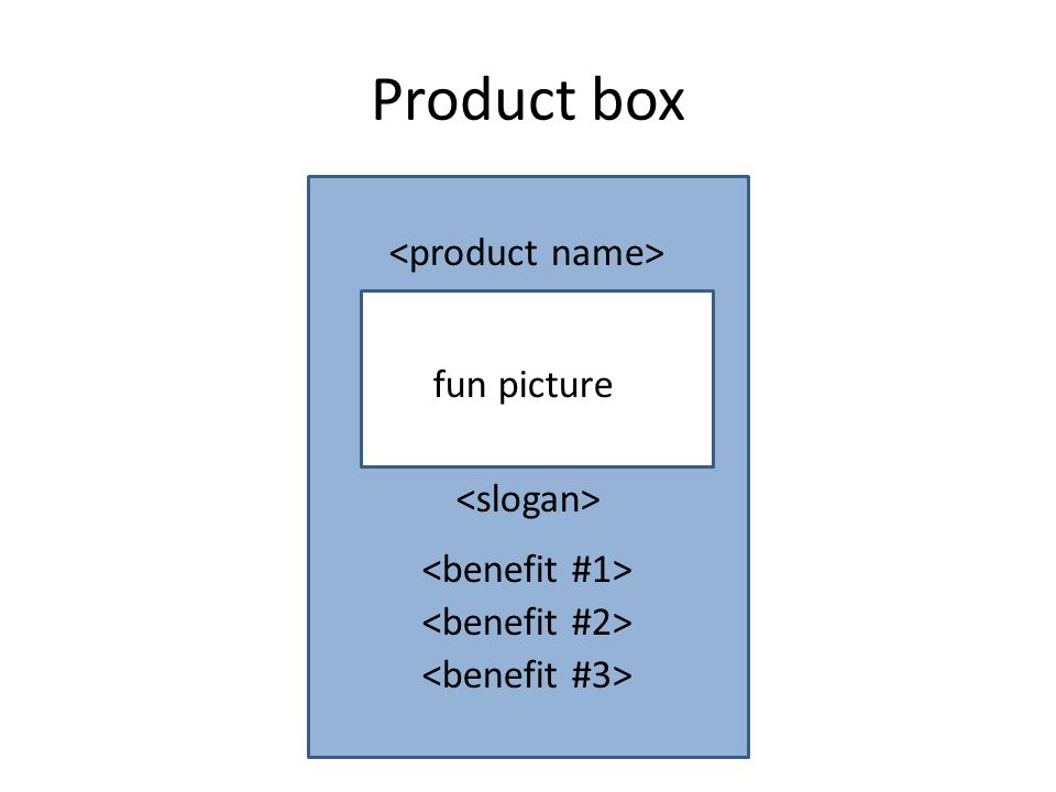 Product box fun picture