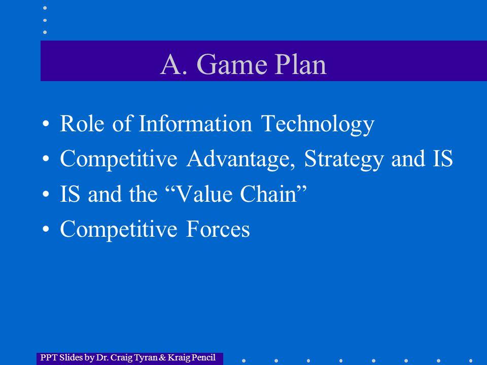 PPT Slides by Dr. Craig Tyran & Kraig Pencil A.