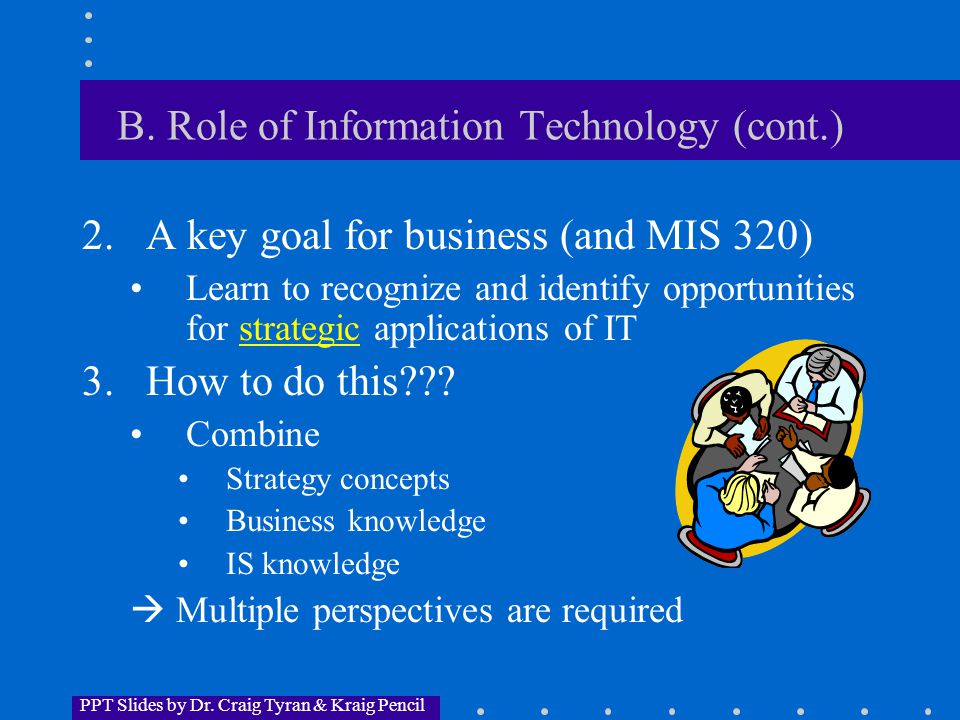 PPT Slides by Dr.Craig Tyran & Kraig Pencil C. Competition and Strategy 1.