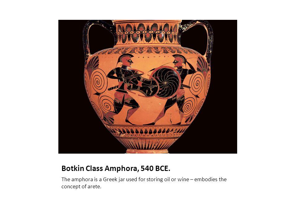 Botkin Class Amphora, 540 BCE.