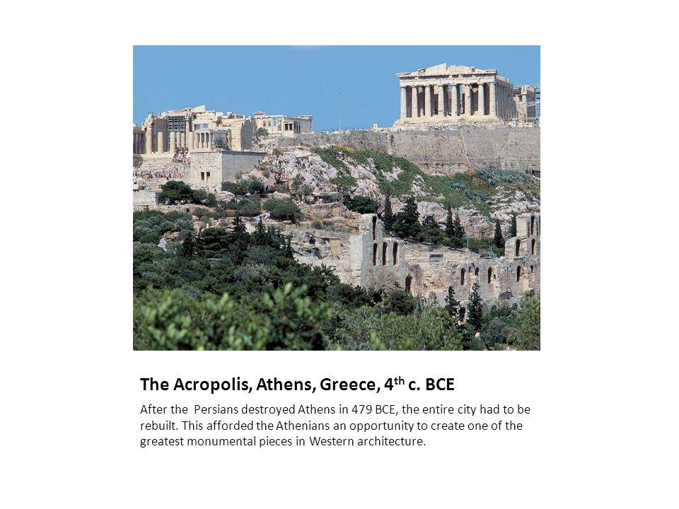 The Acropolis, Athens, Greece, 4 th c.