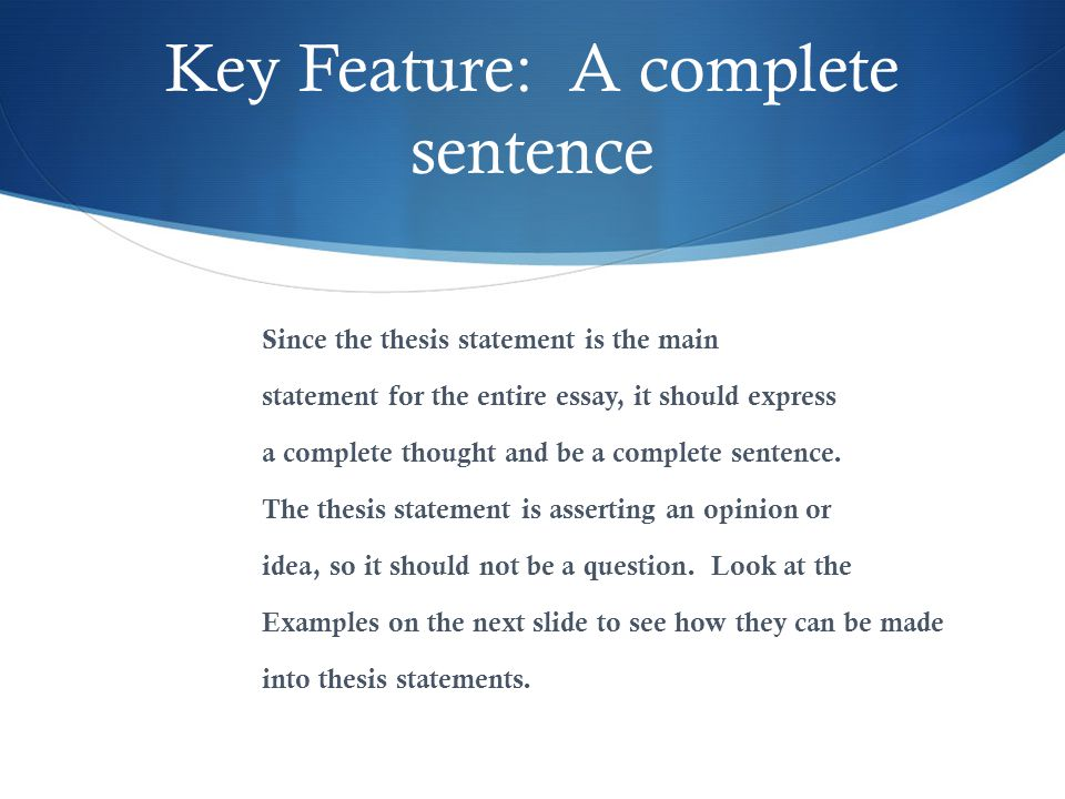 key concepts of writing a thesis statement Key concepts of writing a thesis statement - define expository essay writing tujegaj ( 23122016, 19:04 ) essay on role your of social media in present times crossword modern latin america history essay carlos bulosan essays about life.