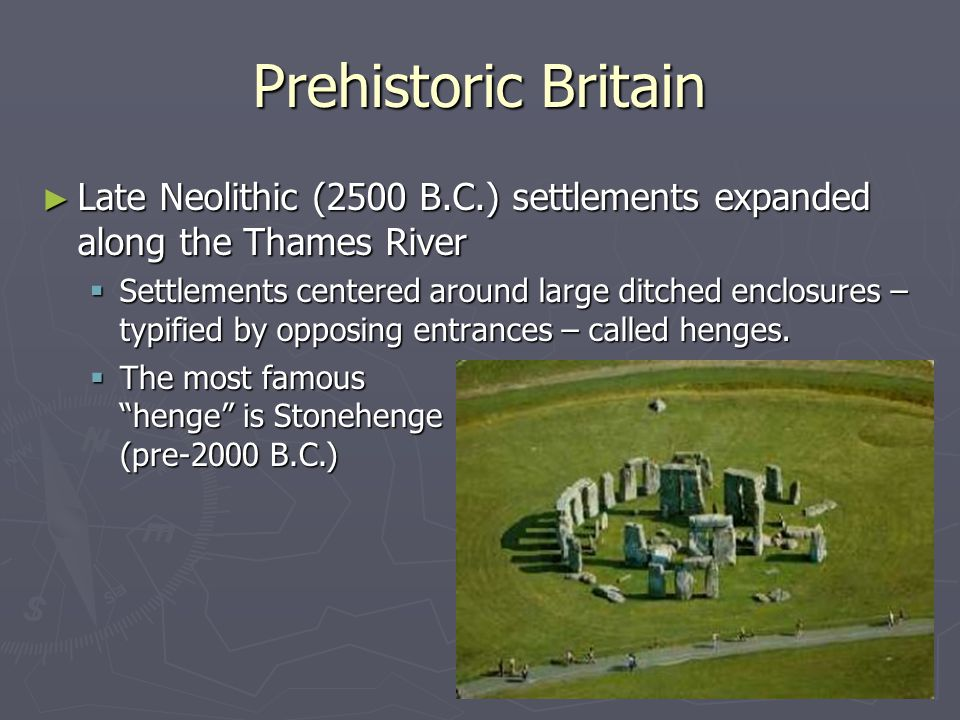 Celtic Invasion (Brythons) ► Celtic tribes were from Gaul ► Invasion occurs around 1000 B.C.