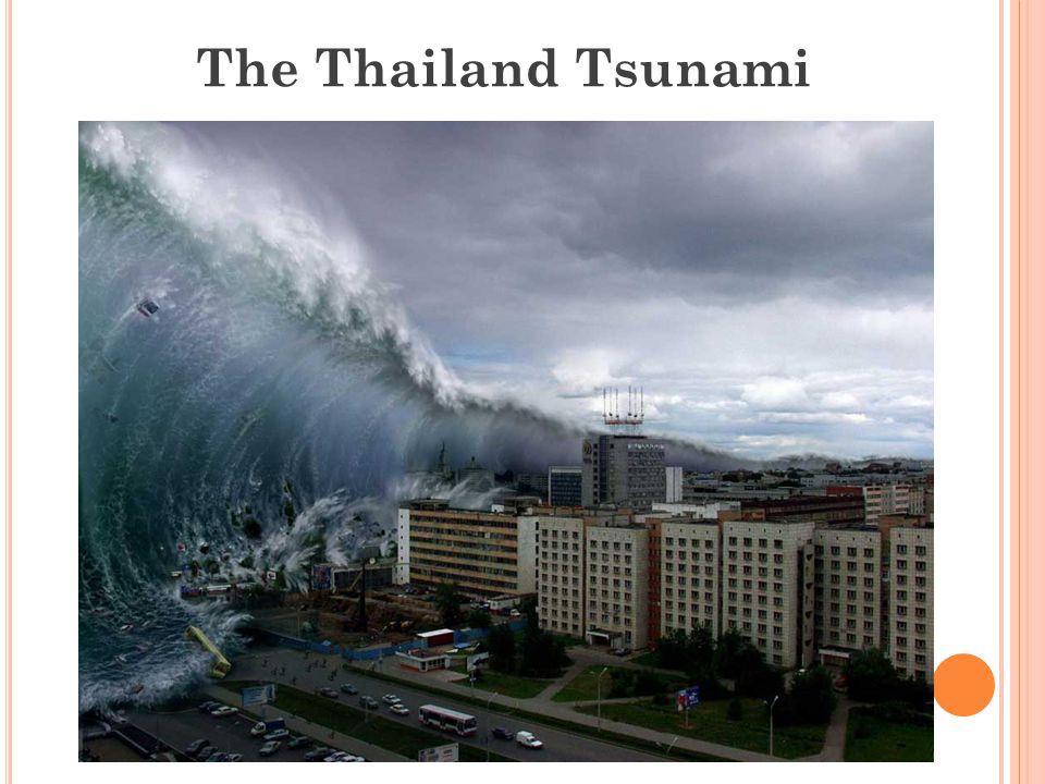 The Thailand Tsunami