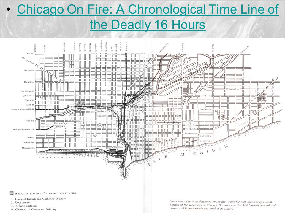 Chicago On Fire: A Chronological Time Line of the Deadly 16 HoursChicago On Fire: A Chronological Time Line of the Deadly 16 Hours
